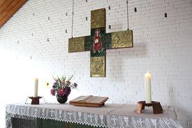 Altar der Katharinenkapelle Müssen