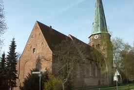 Außenansicht von St. Lorenz Travemünde