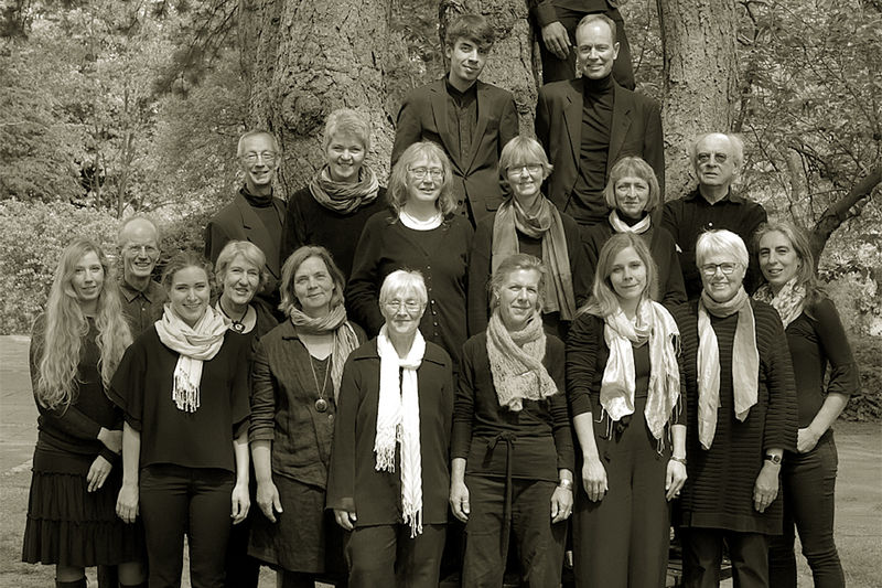 Das Ensemble Cantabile gastiert am 18. Januar 2020 in Krummesse. Auf dem Bild ist der Chor zu sehen.