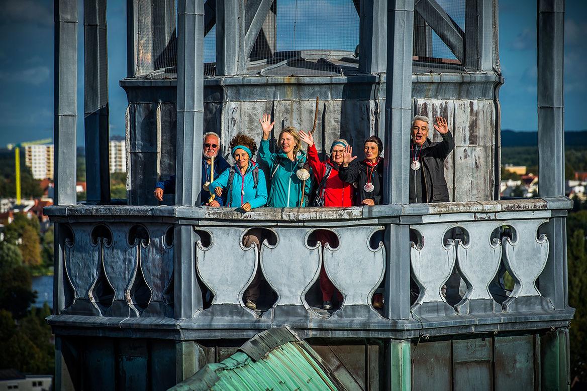 Das Pilgerteam von St. Jakobi zu Lübeck. - Copyright: Olaf Malzahn