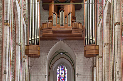Die Kemper-Orgel in St. Marien - Copyright: Manfred Maronde