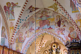 Gewölbe in der Maria-Magdalenen-Kirche Berkenthin