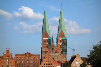 St.-Marien-Kirche Lübeck Zwillingstürme - Copyright: Ev.-Luth. Kirchenkreis Lübeck-Lauenburg