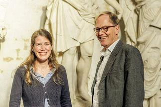 Pastorin Inga Meißner und Pastor Robert Pfeifer bieten ab dem 1. Dezember 2019 die City-Seelsorge an. - Copyright: Thorsten Wulff