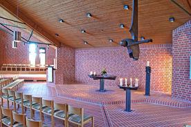 Blick auf den Altarbereich der Bugenhagenkirche  - Copyright: Manfred Maronde