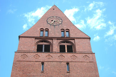 St.-Gertrud-Kirche Turmspitze