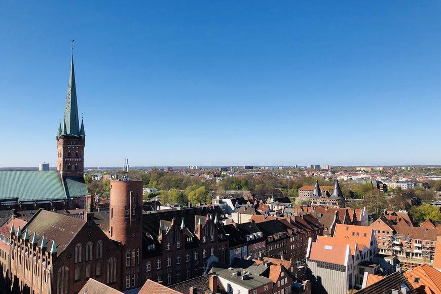 Der Aussichtsturm von St. Petri öffnet wieder. - Copyright: Steffi Niemann