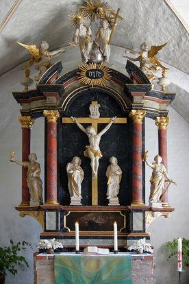 Der historische Altar von St. Georg auf dem Berge  - Copyright: Manfred Maronde