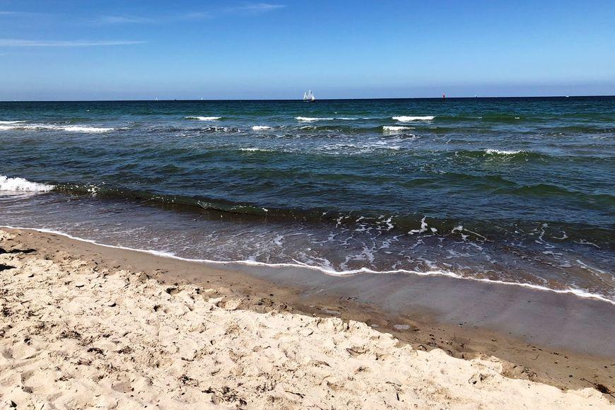 Strand, Meer, Himmel - Copyright: Ines Langhorst
