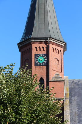Turm der Kirche in Breitenfelde