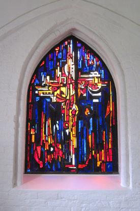 Fenster in St. Lorenz Schmilau