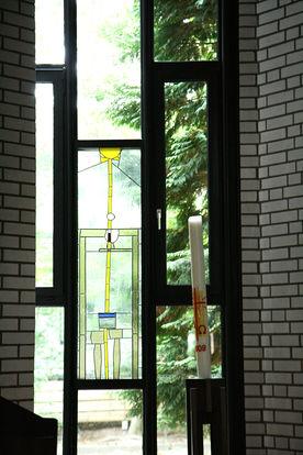 Fenster in der St.-Thomas-Kirche in Geesthacht