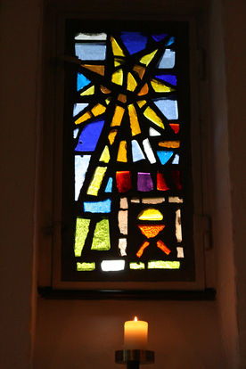 Fenster in der Christuskirche in Geesthacht-Düneberg