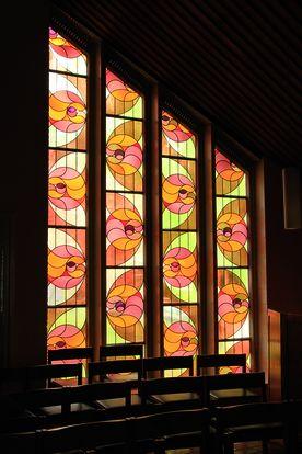 Kirchenfenster in St. Augustinus