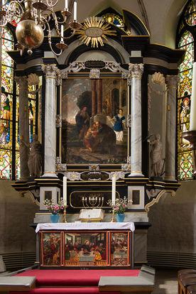 Barock-Altar in der St.-Nicolai-Kirche Mölln - Copyright: Manfred Maronde
