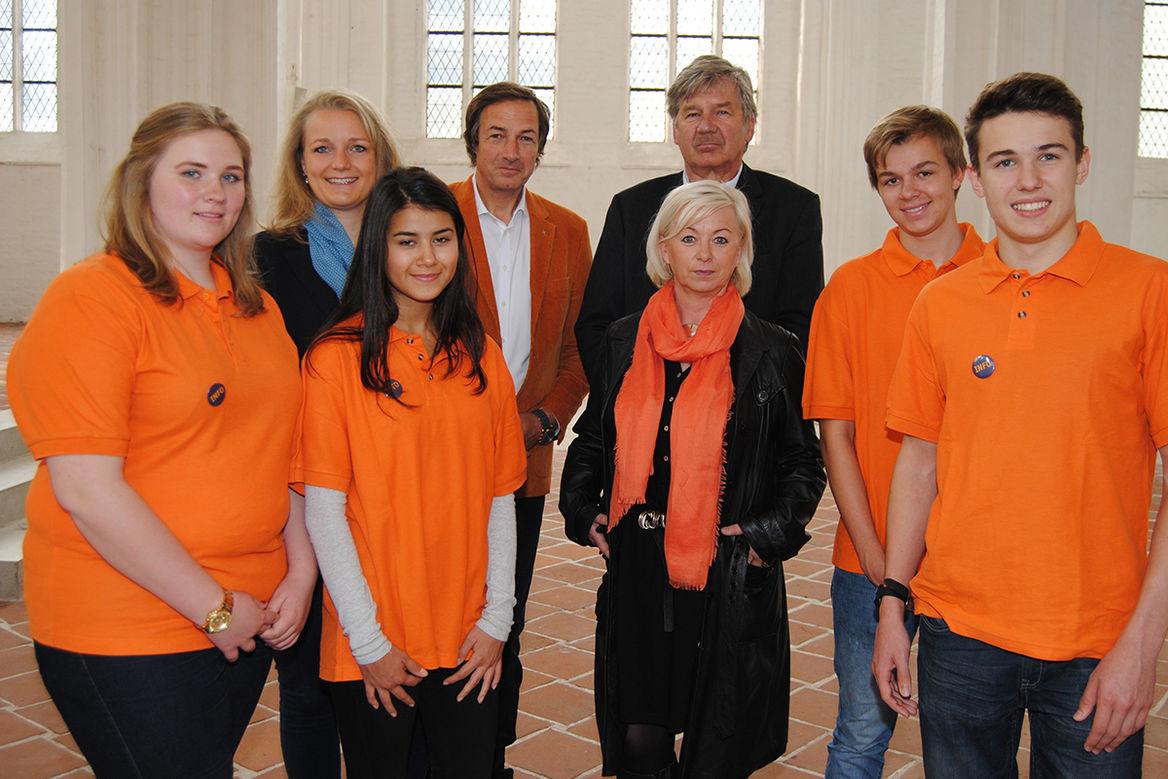 Orientierungsschau in St. Petri Lübeck - Ein Team vom Kichlichen Dienst in der ArbeitsweltKDA