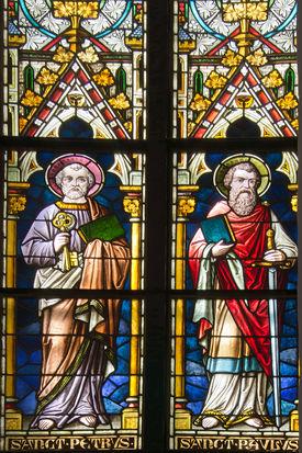Chorfenster in der St.-Nicolai-Kirche Mölln - Copyright: Manfred Maronde