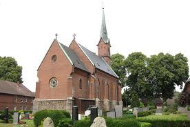 Außenansicht der Katharinenkapelle in Witzeeze von Osten