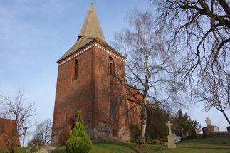 Außenansicht der Maria-Magdalenen-Kirche Berkenthin