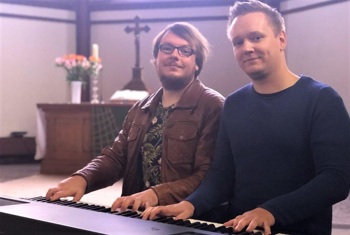 Christoph Liedtke und Nathanael Kläs