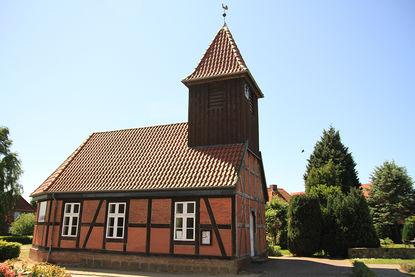 Außenansicht der St.-Jacob-Kapelle in Basedow
