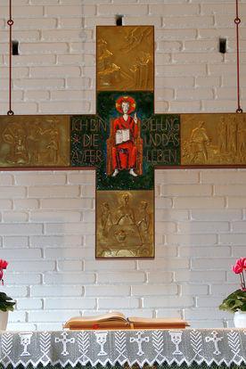 Altarkreuz der Katharinenkapelle Müssen - Copyright: Manfred Maronde