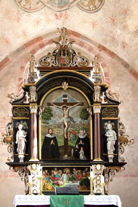 Der Altar der Kirche in Behlendorf  - Copyright: Manfred Maronde