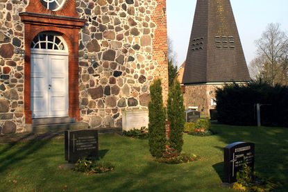 Friedhof Sahms