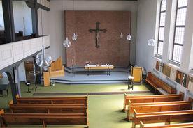 Blick von der Orgelempore in den Innenraum  - Copyright: Manfred Maronde