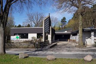 Fassade der St.-Thomas-Kirche in Geesthacht - Copyright: Manfred Maronde