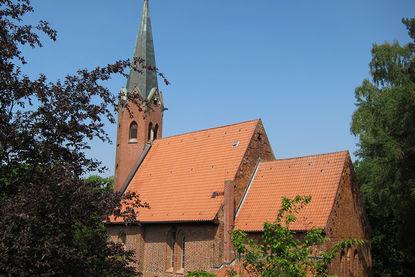 St.-Clemens-St.Katharinen-Kirche Seedodrf AUßenansicht
