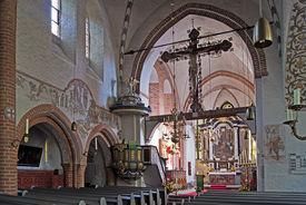 Innenansicht der St.-Nicolai-Kirche Mölln - Copyright: Manfred Maronde
