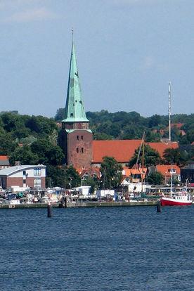 St. Lorenz Travemünde, Ansicht von der Ostsee
