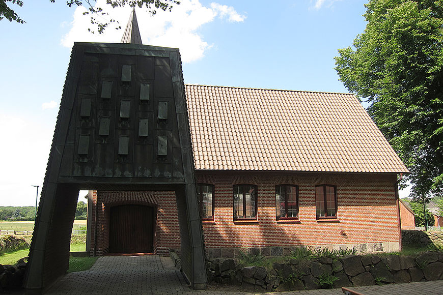 Die Kapelle in Talkau. - Copyright: Katja Launer