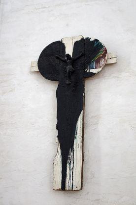 Modern gestaltetes Kreuz in St. Petri - Copyright: Manfred Maronde