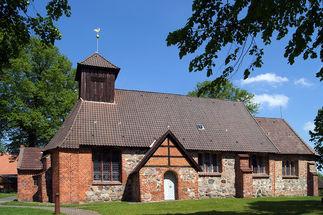 Die St.-Laurentius-Kirche in Ziethen - Copyright: Manfred Maronde