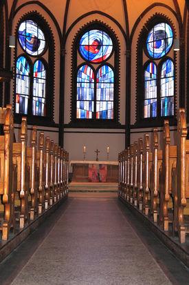 Der Altar der St.-Matthäi-Kirche - Copyright: Ev.-Luth. Kirchenkreis Lübeck-Lauenburg