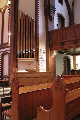 Kirchenbänke in der St.-Matthäi-Kirche - Copyright: Ev.-Luth. Kirchenkreis Lübeck-Lauenburg