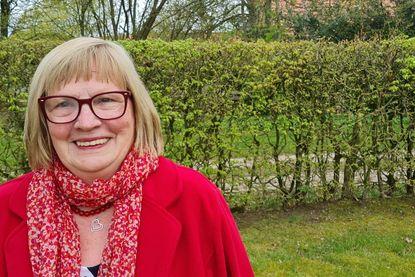 Sie sehen die Leiterin der Brunstorfer Frauengruppe Christel Herr - Copyright: Angelika Gogolin