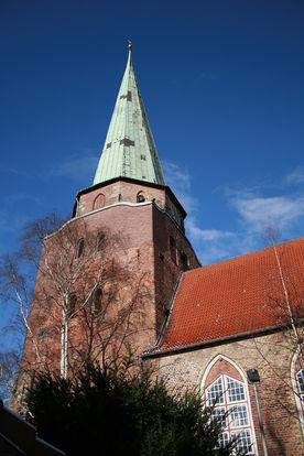 Der Turm von St. Lorenz Travemünde