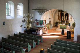 Innenansicht von St. Georg auf dem Berge von der Empore aus - Copyright: Manfred Maronde