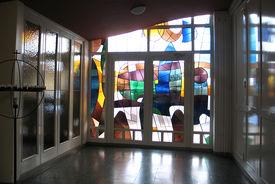 Der Eingangsbereich von St. Philippus  - Copyright: Ev.-Luth. Kirchenkreis Lübeck-Lauenburg