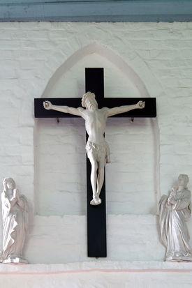 Kreuzgruppe der Wege-Kapelle in Klein Grönau - Copyright: Manfred Maronde