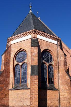 Chorhaupt der St.-Matthäi-Kirche - Copyright: Manfred Maronde