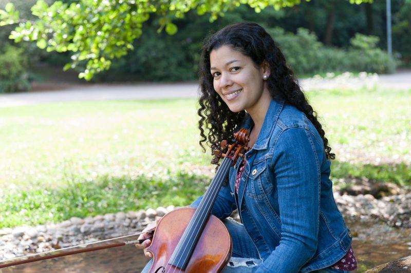 """Erika Cedeño ist die Initiatorin des Projektes """"Musik verbindet"""""""