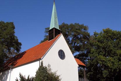 St.-Christophorus-Kirche Außenansicht - Copyright: Ev.-Luth. Kirchenkreis Lübeck-Lauenburg