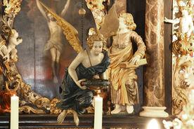 Taufengel in der Maria-Magdalenen-Kirche Berkenthin