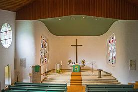 Blick auf den Altar der St.-Philippus-Kirche - Copyright: Manfred Maronde