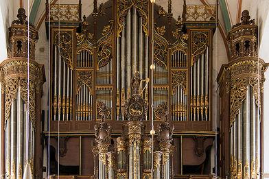 Die große Orgel in St. Jakobi - Copyright: Manfred Maronde