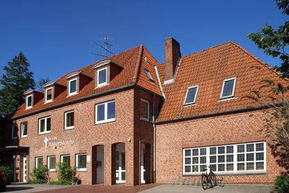 Der Eingangsbereich der Ansveruskirche Ratzeburg - Copyright: Manfred Maronde